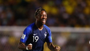 Brandon Soppy in action for French youth team (Getty Images)