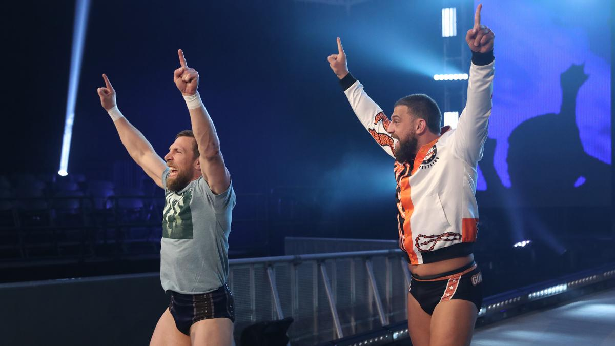 Daniel Bryan and Drew Gulak seem to have formed a team for now