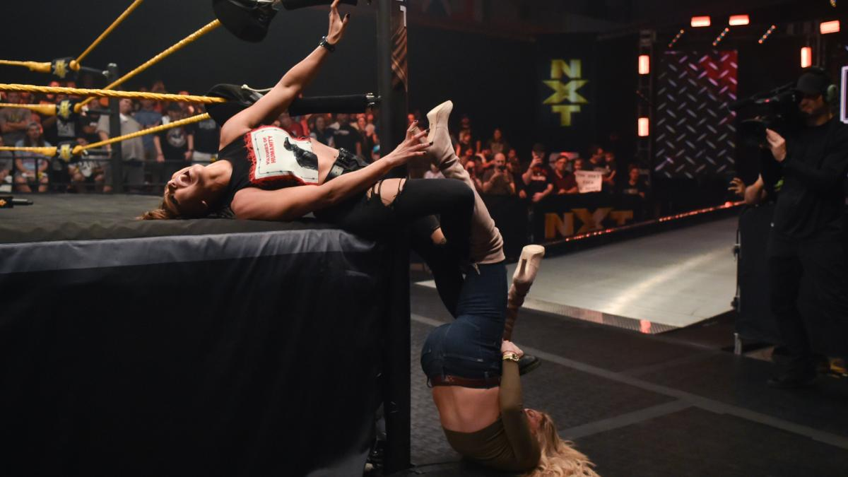 Charlotte Flair attacked Rhea RIpley on the previous episode and could make a statement on this week's NXT