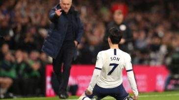 Hueng-Min Son scored the second goal in Tottenham's 2-0 win against Manchester City last month (Getty Images)