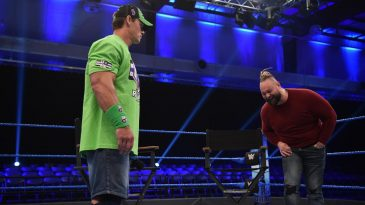 John Cena will face Bray Wyatt in a Firefly Fun House match at WrestleMania 36