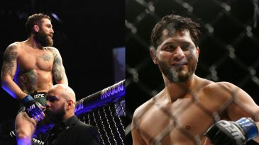 Michael Chiesa was also impressed by Jorge Masvidal as he knocked out Ben Askren at UFC 239
