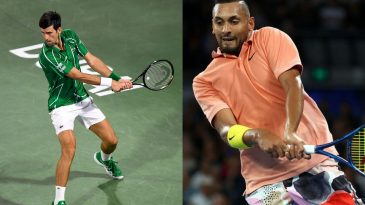 Novak Djokovic and Nick Kyrgios have some crazy superstitions before going onto the tennis courts