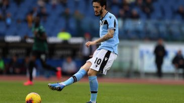 Luis Alberto of SS Lazio in action during the Serie A match between SS Lazio and Bologna FC at Stadio Olimpico on February 29, 2020 in Rome, Italy. (Getty Images)