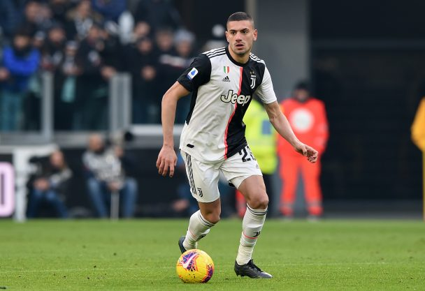 Merih Demiral of Juventus during the Serie A match between Juventus and Cagliari Calcio at Allianz Stadium on January 6, 2020 in Turin, Italy. (Getty Images)