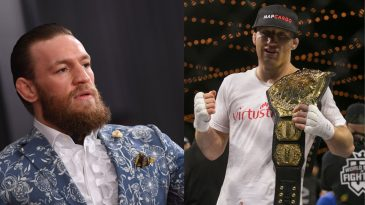 Conor McGregor is being tipped to fight Justin Gaethje in his next UFC bout