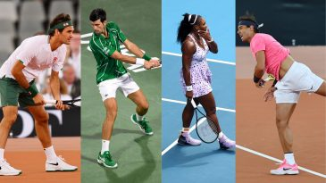 Roger Federer, Serena Williams, Novak Djokovic and Rafael Nadal were some of the best tennis shoes in the world