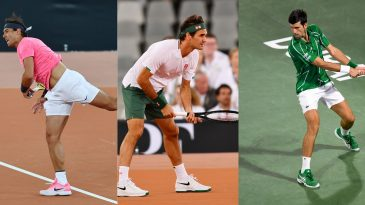 Rafael Nadal,Roger Federer and Novak Djokovic have won the most Grand Slams in the Open Era