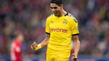 Achraf Hakimi is on loan from Real Madrid (Getty Images)