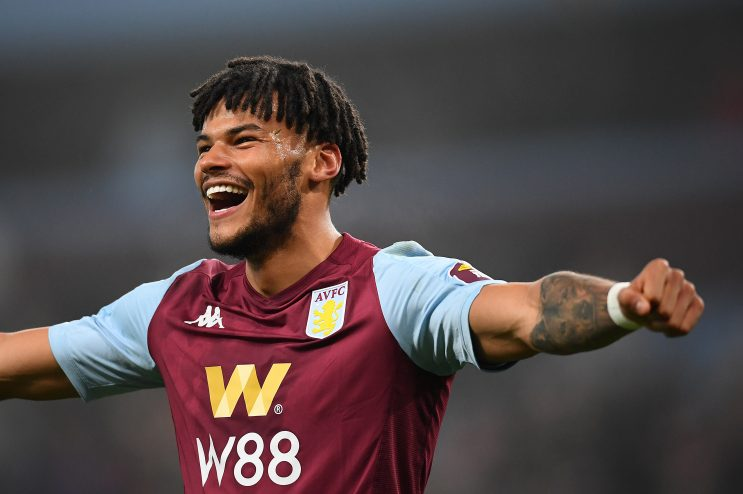 Tyrone Mings joined Aston Villa on a permanent basis last summer (Getty Images)