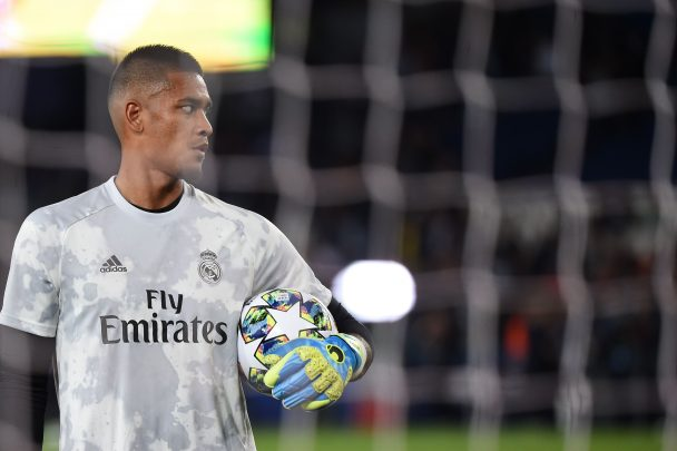 Alphonse Areola is currently on loan with Real Madrid (Getty Images)