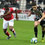 Rayan Ait-Nouri (R) in action against Reims (Getty Images)