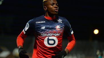 Victor Osimhen has been linked with a move to Everton (Getty Images)
