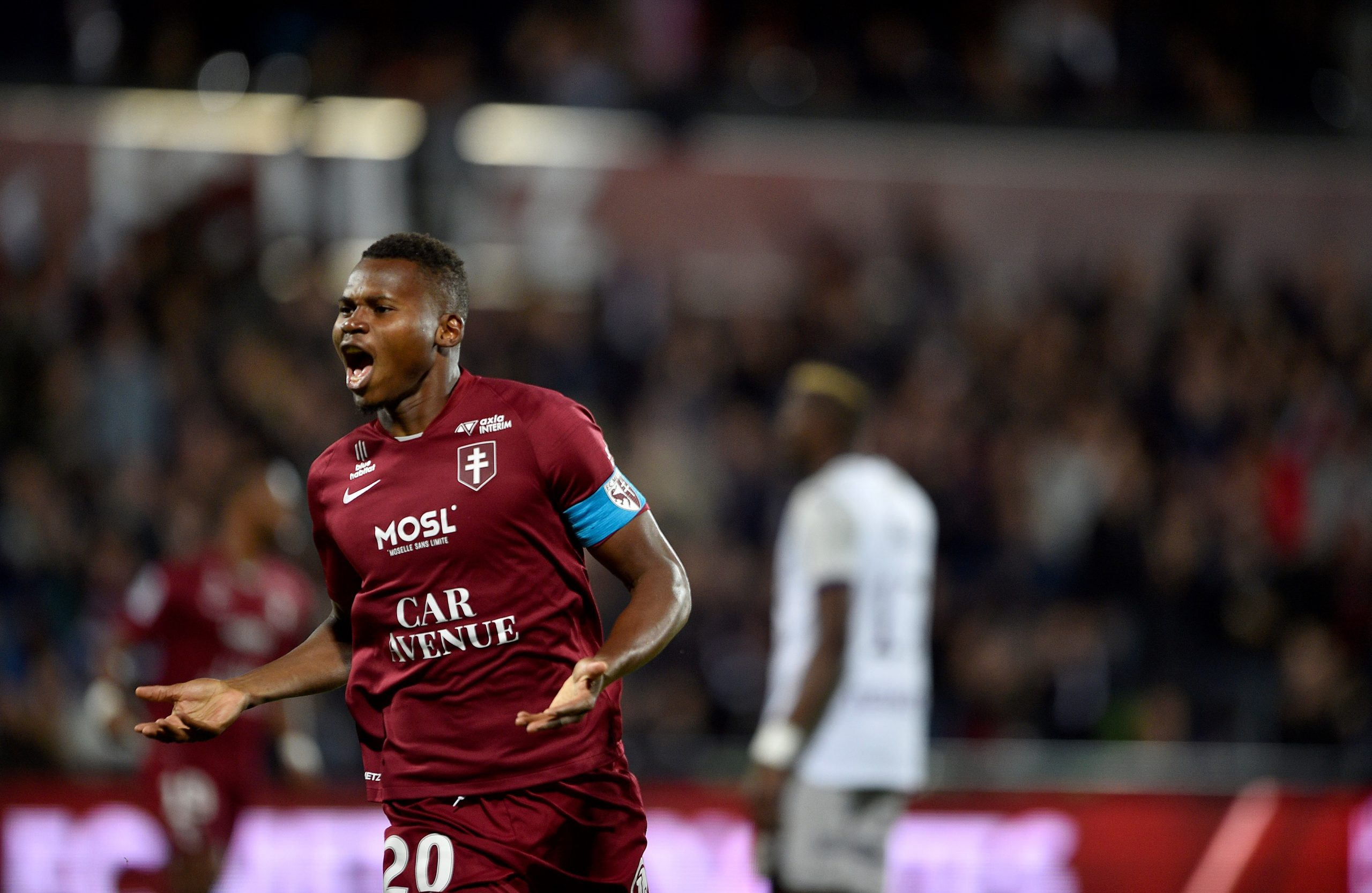 Habib Diallo helped Metz get promoted to the French top-flight (Getty Images)