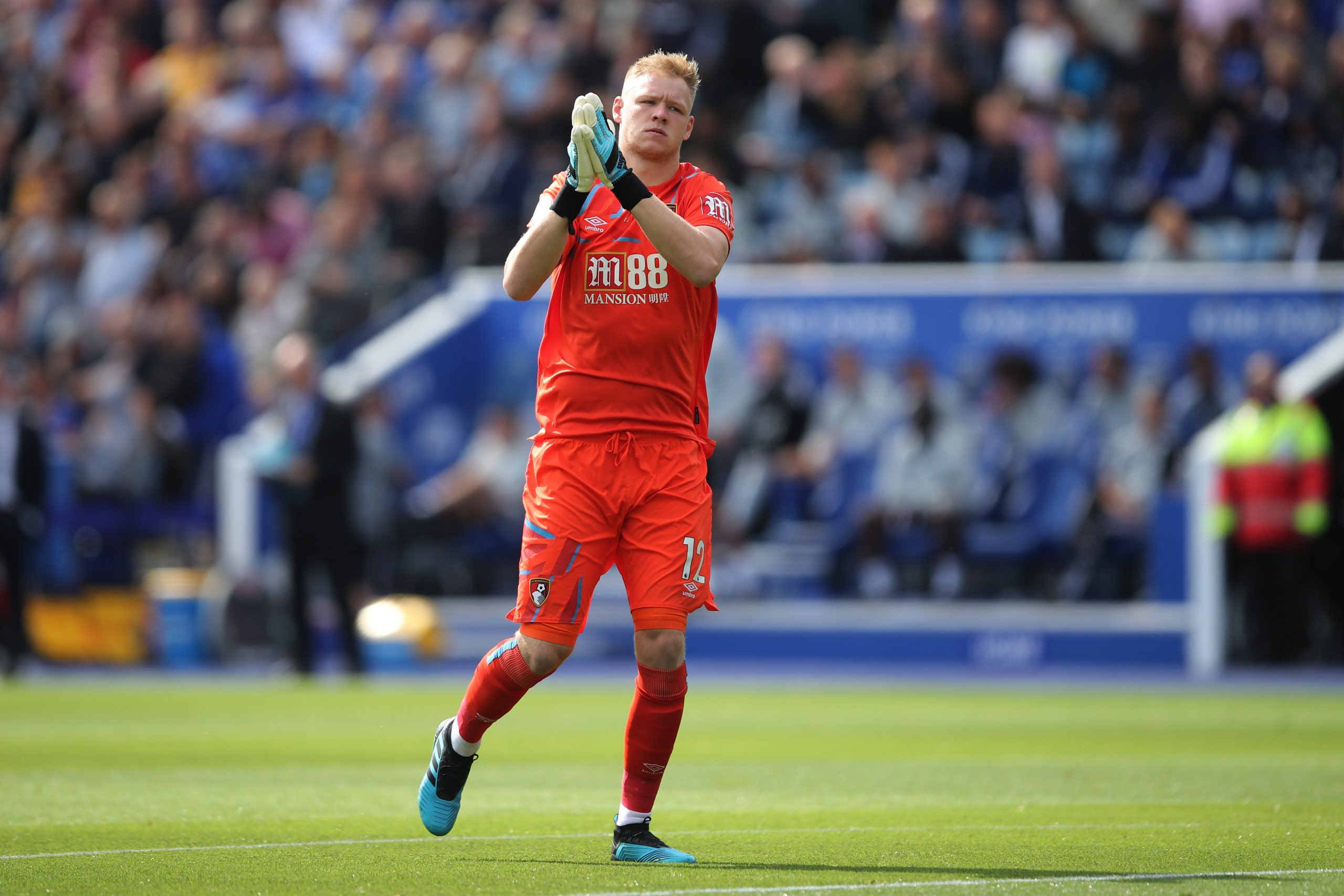 Aaron Ramsdale in action for Bournemouth (Getty Images)