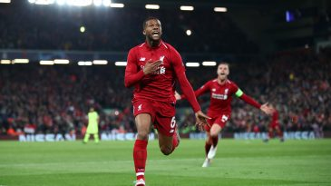 Georginio Wijnaldum has been linked with a move to Barcelona (Getty Images)