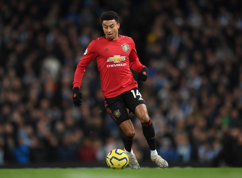 Jesse Lingard in action for Manchester United (Getty Images)
