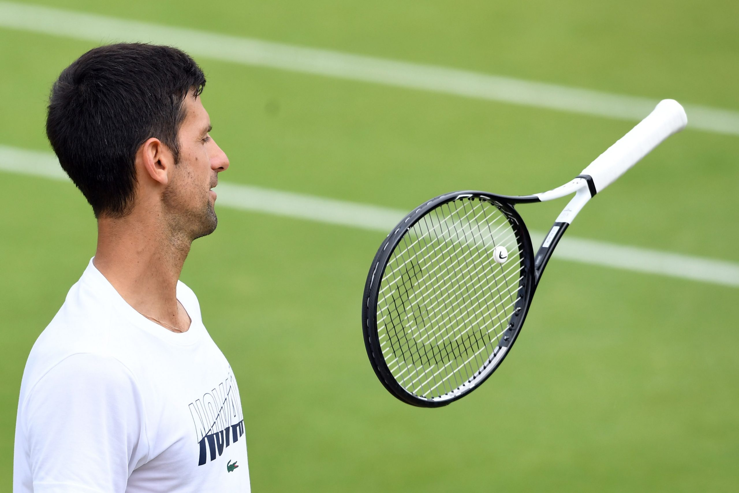 World No.1 Novak Djokovic, unlike his father, was full on praise for his fellow ATP star Roger Federer.