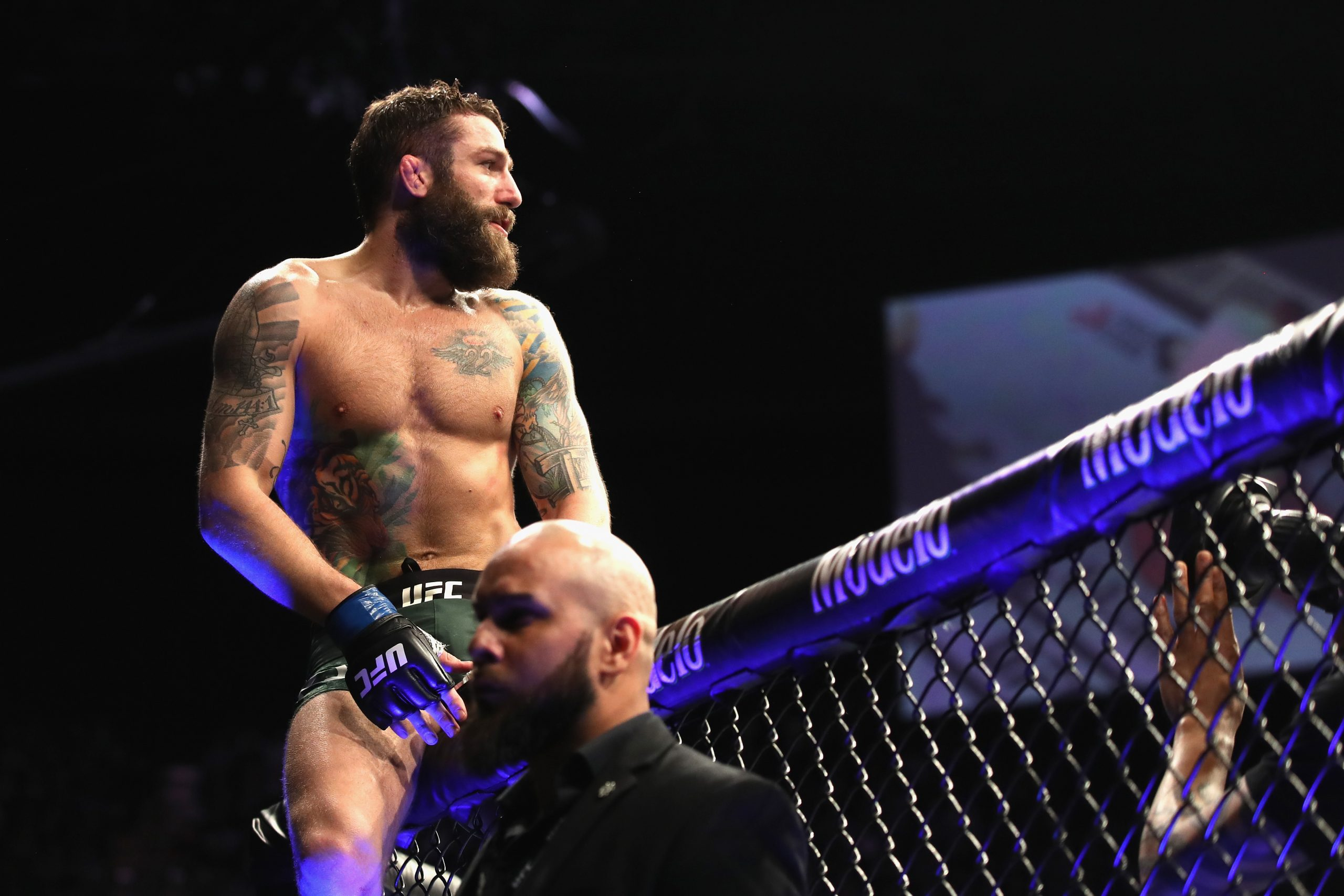 Michael Chiesa is also a welterweight UFC star