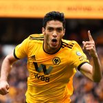 Raul Jimenez celebrates after scoring a goal (Getty Images)
