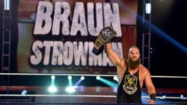 Braun Strowman is the new WWE Universal champion