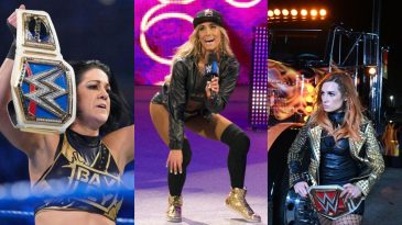 Carmella made fun of several WWE stars including Becky Lynch, Charlotte and Bayley