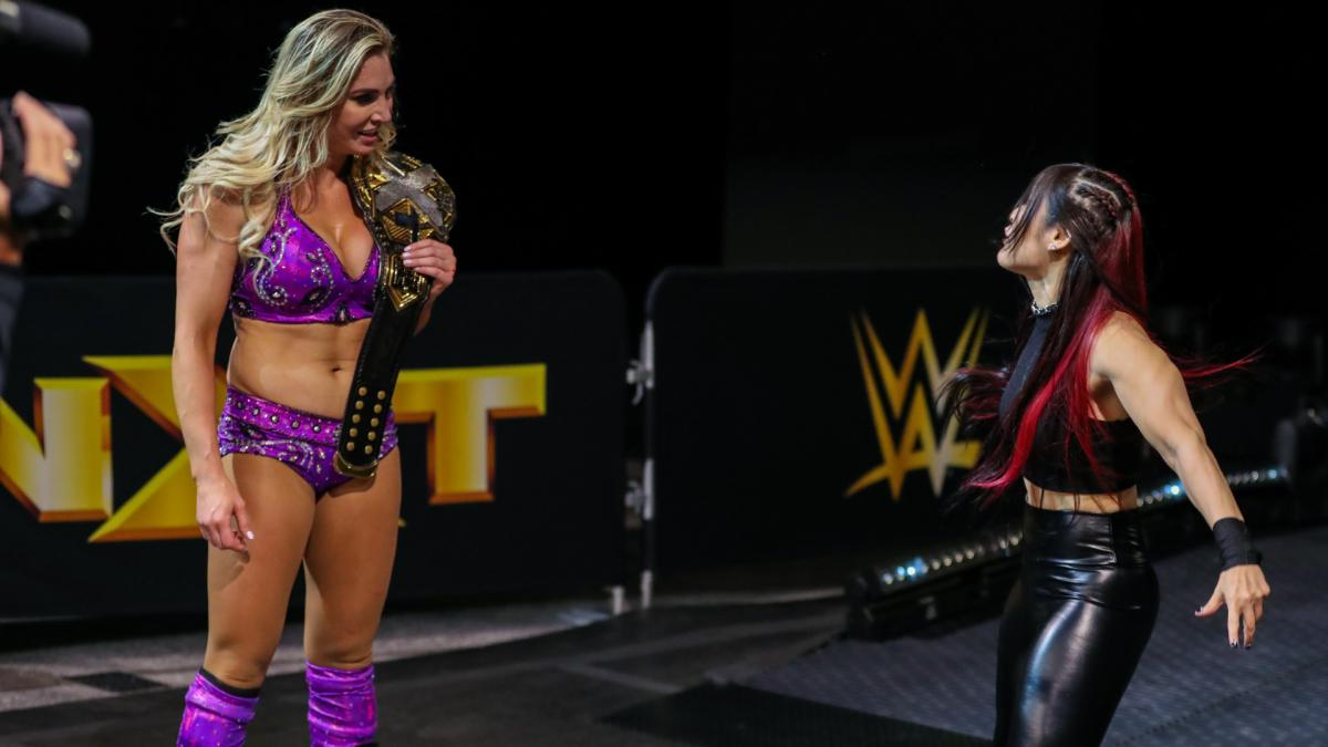 Charlotte vs Io Shirai should be excellent
