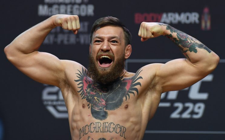 Conor McGregor made his UFC debut in 2013