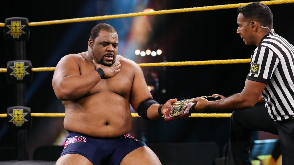 Keith Lee kept his title despite a tough fight against Damien Priest