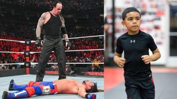 Daniel Cormier Jr enjoyed AJ Styles vs The Undertaker in their Boneyard match