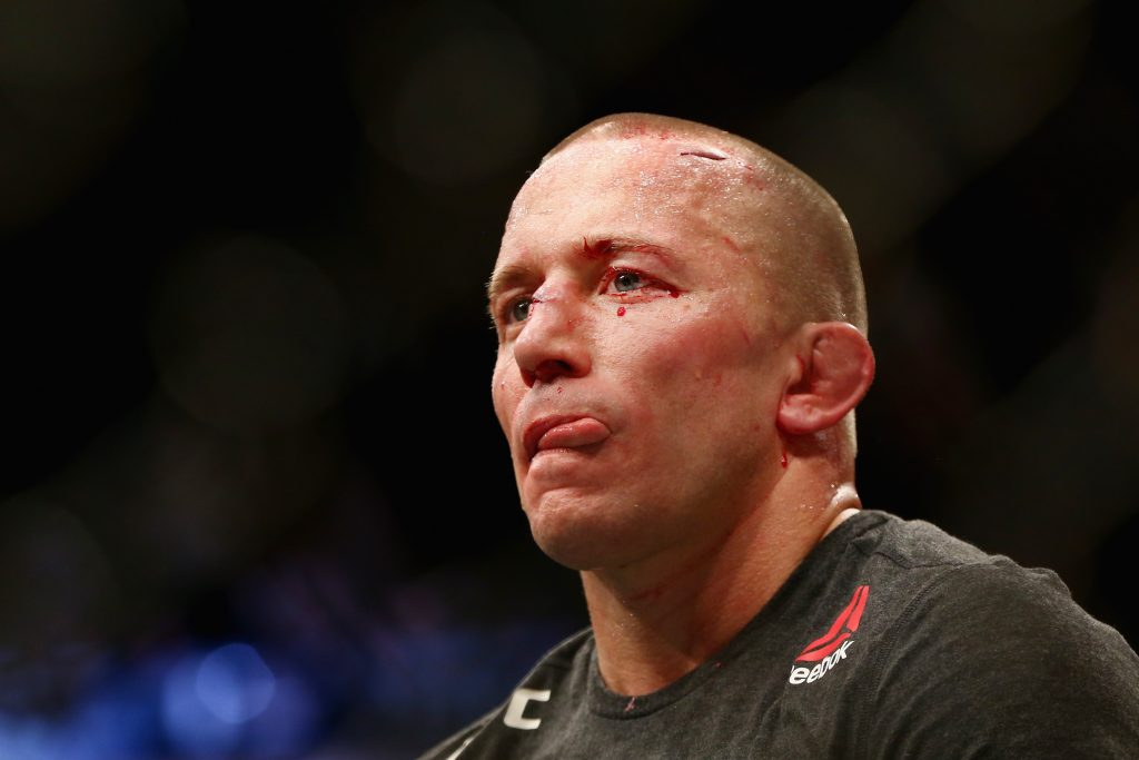 Georges St-Pierre could be facing Khabib Nurmagomedov in the future.