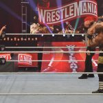 Lana instructs Lashley at WrestleMania 36