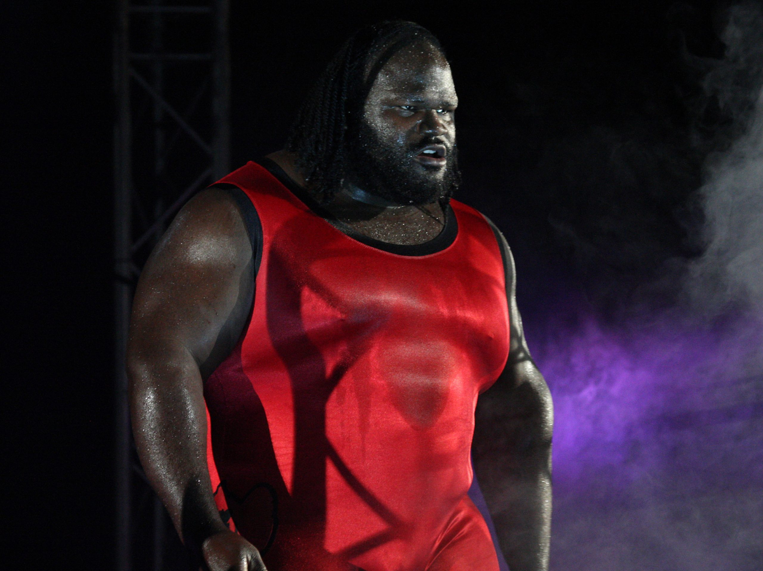 Mark Henry during his WWE days