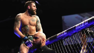 Michael Chiesa had some fun plans for UFC Fight Island