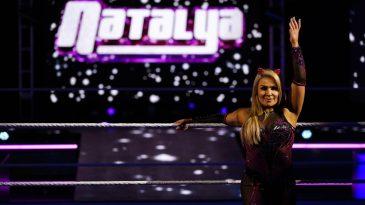 Natalya took on Liv Morgan at WWE WrestleMania 36