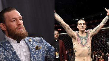 Sean O'Malley compared his striking style to Conor McGregor