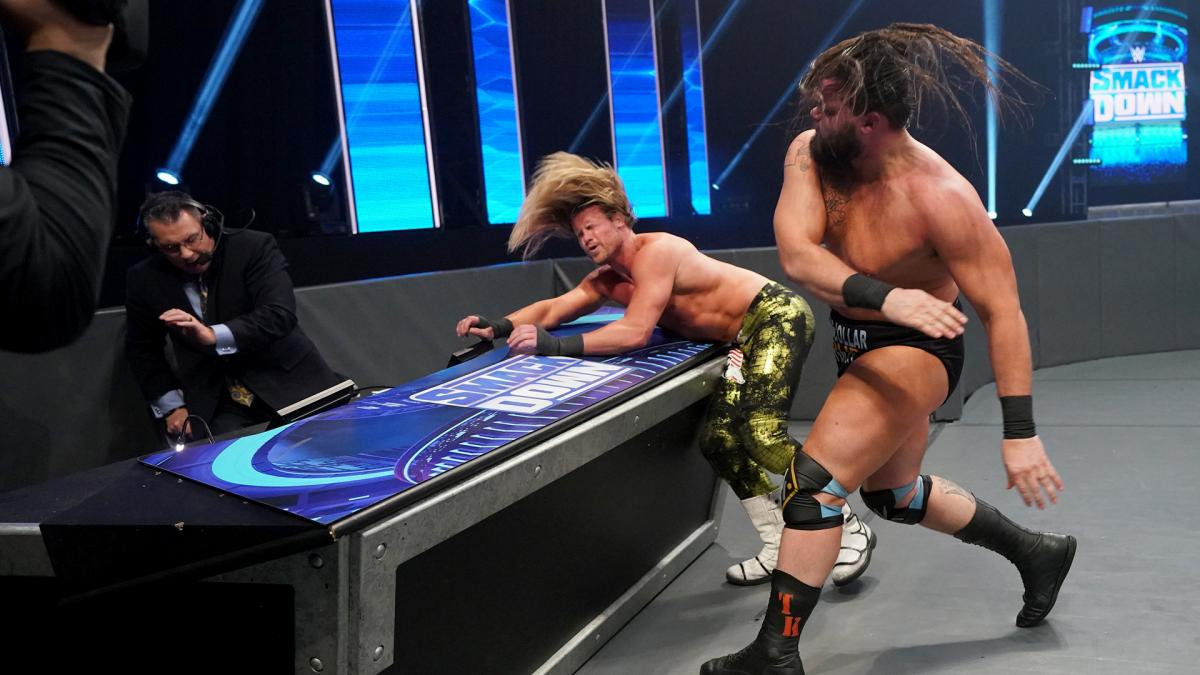 Tucker vs Dolph Ziggler