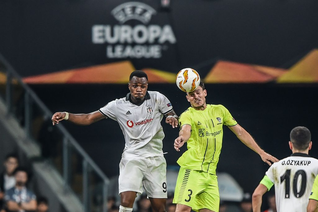 Cyle Larin (L) in action for Besiktas (Getty Images)