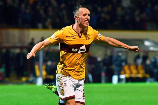 David Turnbull celebrates after scoring a goal (Image credit: Google)