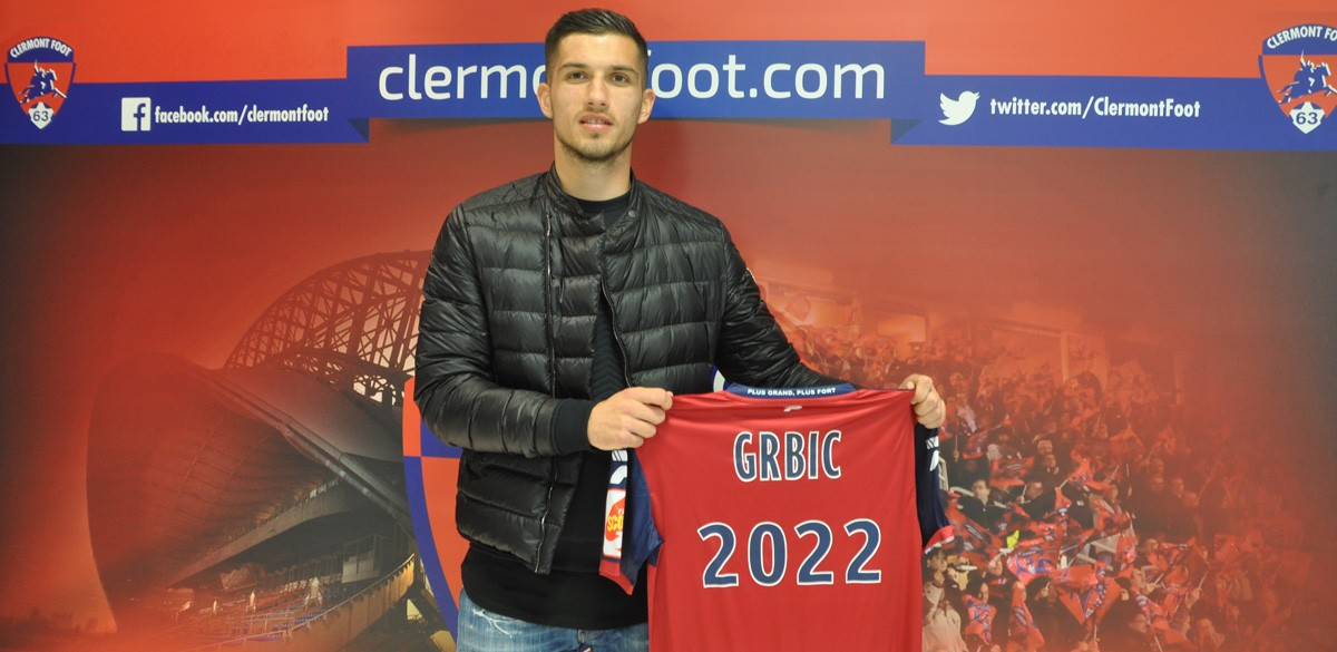 Adrian Grbic signed for Clermont Foots last summer (Getty Images)