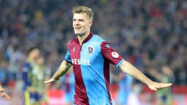 Alexander Sorloth is on loan with Trabzonspor in Turkey (Getty Images)
