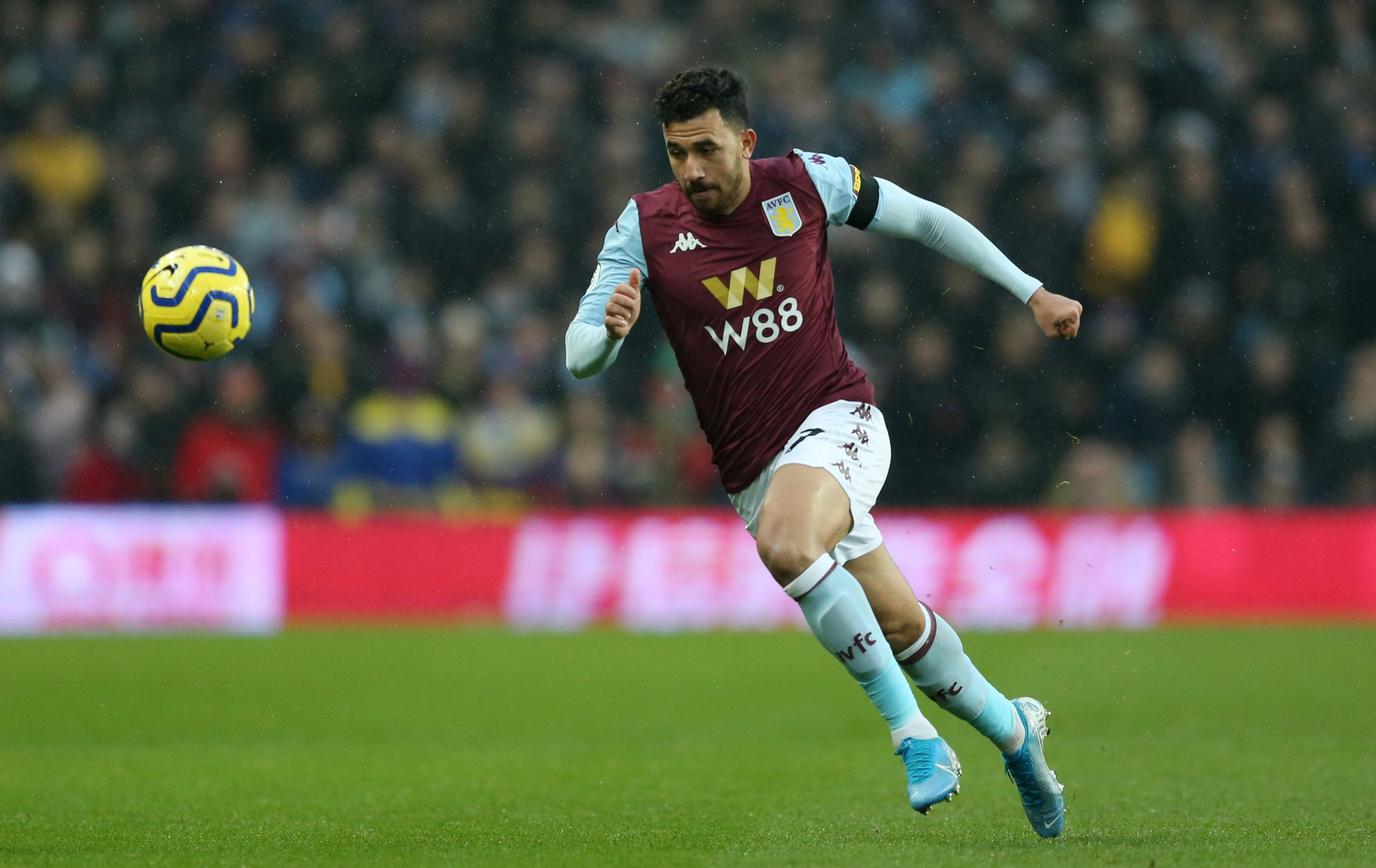 New Aston Villa winger Trezeguet has been far from impressive this season.