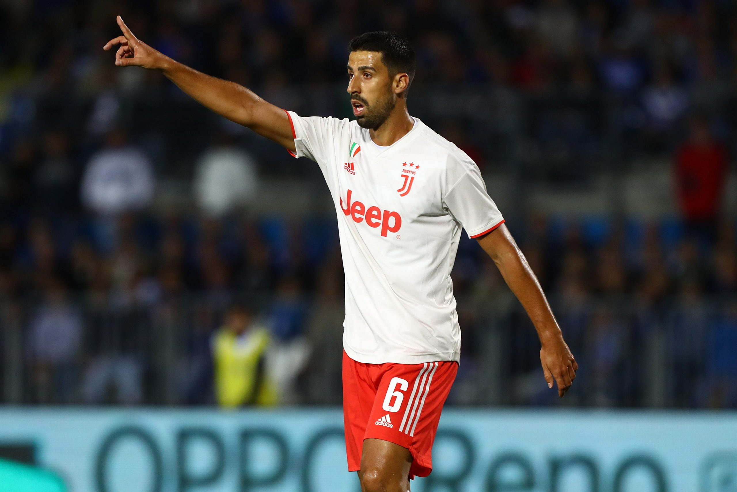 Sami Khedira in action for Juventus in the Serie A. (Getty Images)