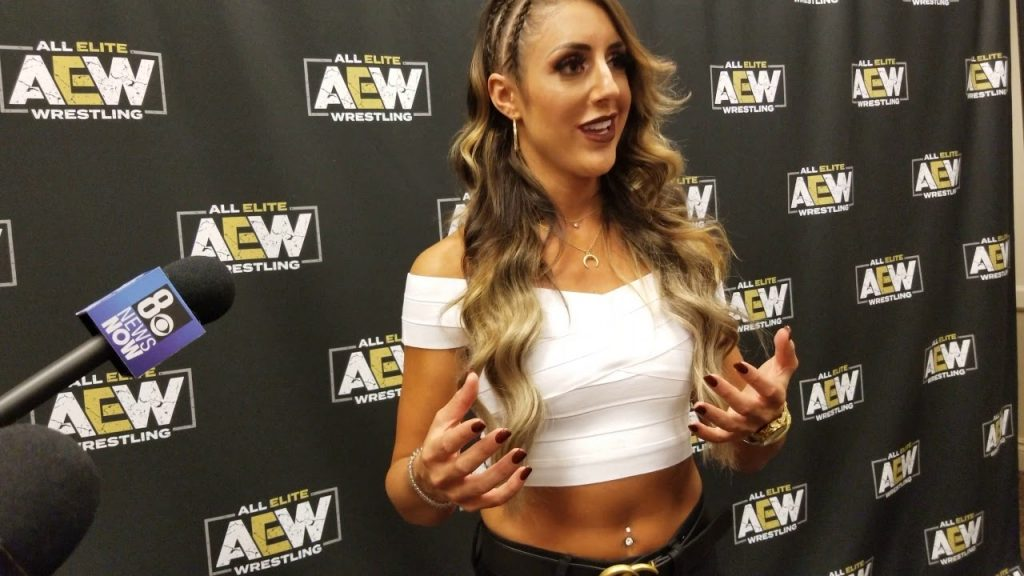 Britt Baker will be in action on this week's AEW