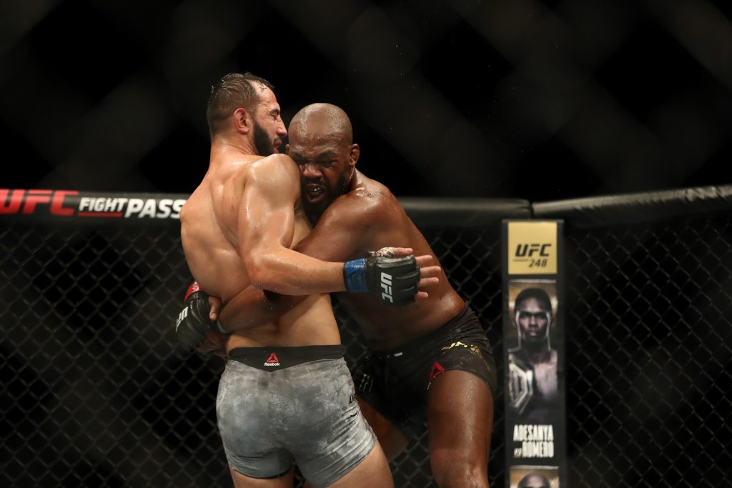 Jon Jones vs Dominick Reyes was a controversial clash