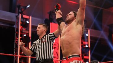 AJ Styles made a shocking return to WWE