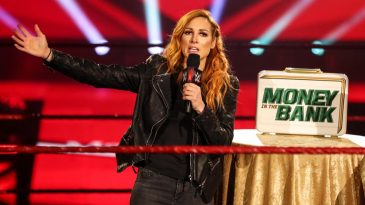 Becky Lynch had some huge news about her pregnancy