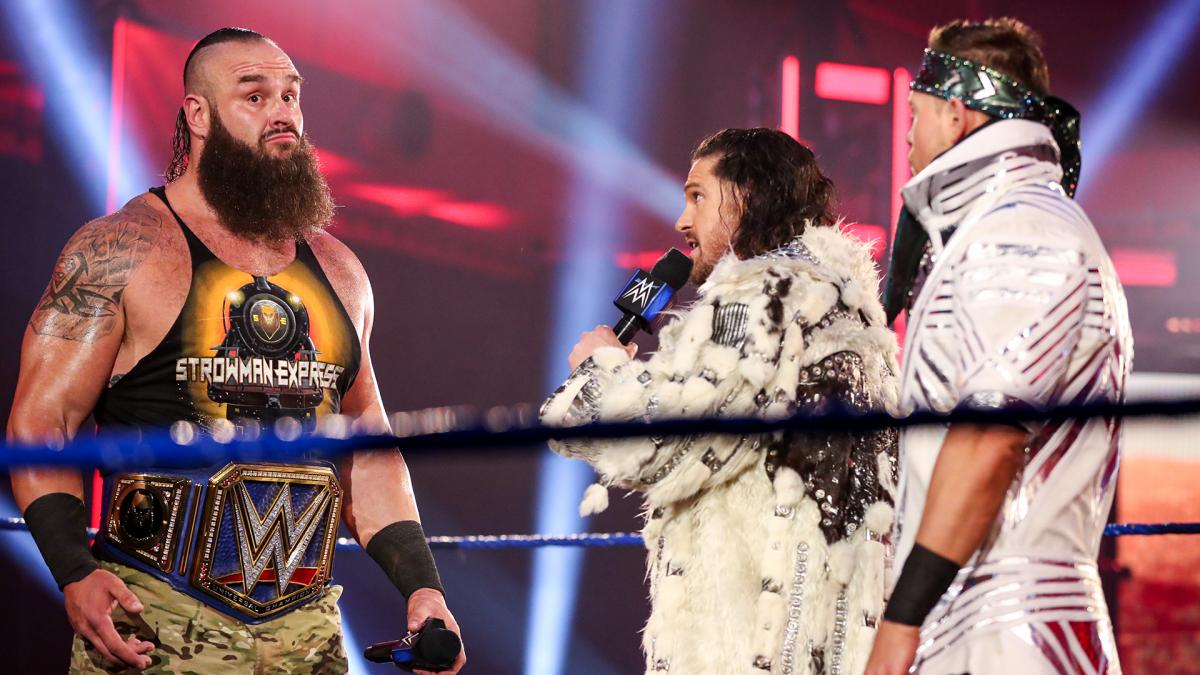 Braun Strowman was challenged on SmackDown by John Morrison