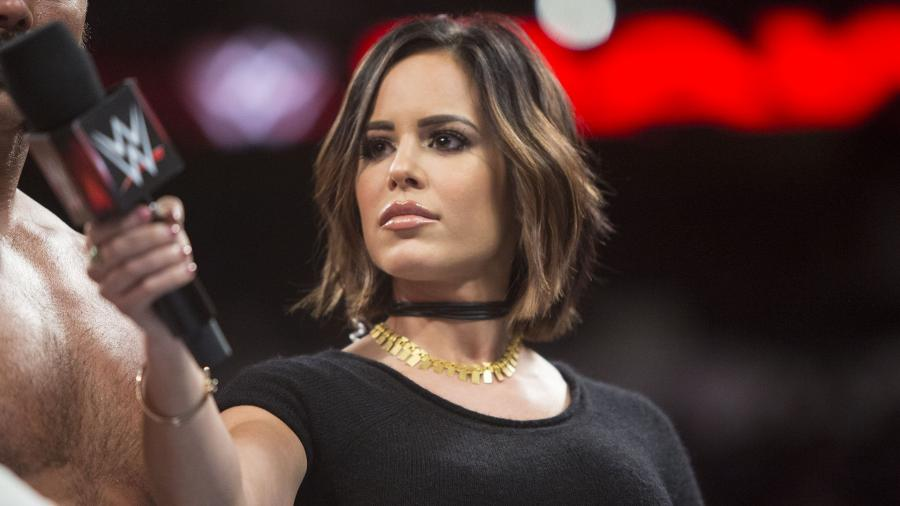 Charly Caruso has taken several interviews of top WWE stars. (WWE)