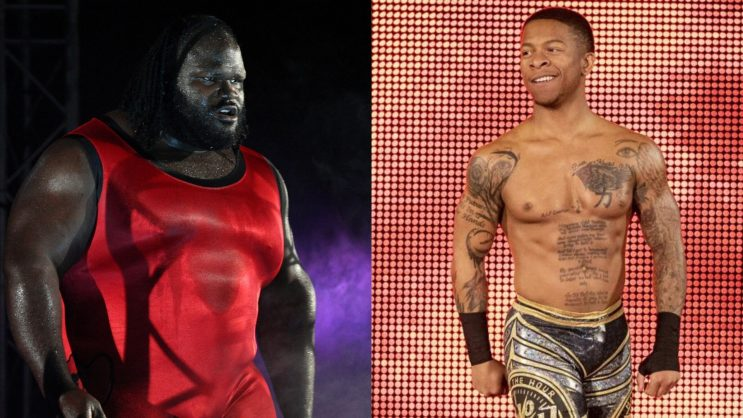 Mark Henry and Lio Rush are having a war on Twitter